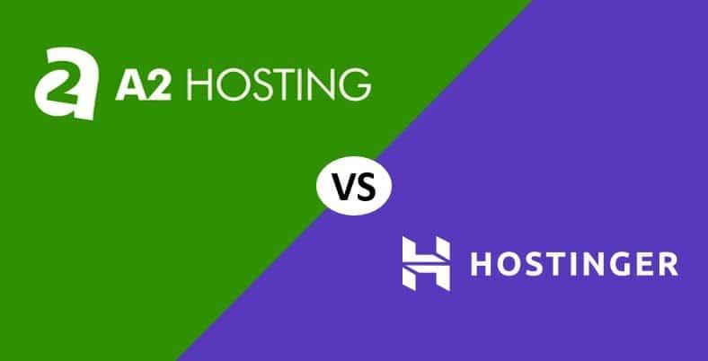 A2 Hosting vs Hostinger