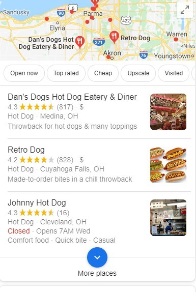 Google Business Listings Local Pack