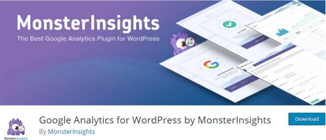 Google Analytics para WordPress por MonsterInsights