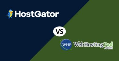 HostGator vs WebHostingPad